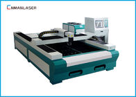 Cina Fiber Laser Metal Cutting Machine 1500*3000 mm Water Cooling 500w  1000w perusahaan