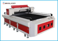 Single Head Air Pendingin Logam Kayu Acrylic Co2 Laser Cutter Machine 1300 * 2500m 150w