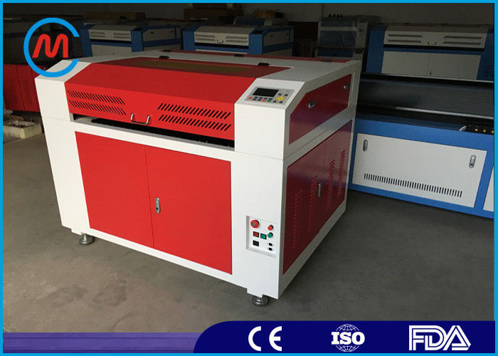 Compact 80w Co2 CNC Tabletop Laser Cutter For Wood 600 x 900mm Cutting Area