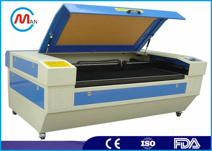 Rotary 150W CO2 Laser Cutting Machine , Small Cardboard Laser Cutter