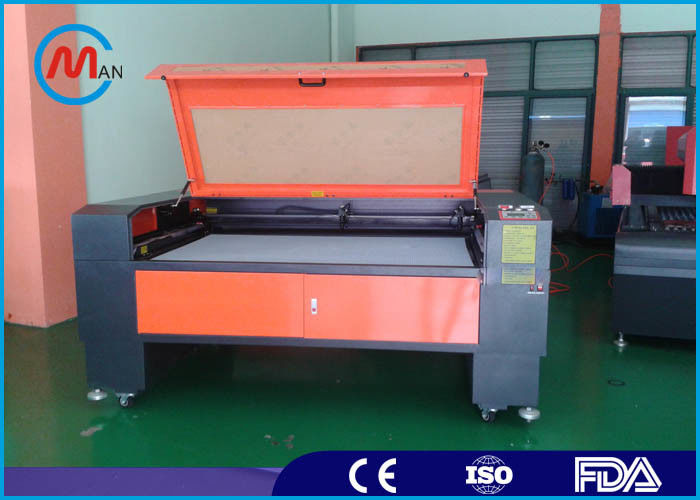 220V 50HZ Laser Fabric Cutting Machine 2200mm x 1600mm Automatic Speeding System