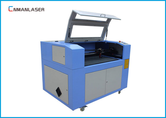 CO2 Cnc Laser Cutting Machine 6090 With DSP Control Steeper Motor Glass Tube
