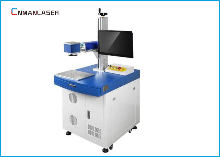 Desktop 20W 0.5mm Depth Co2 Laser Marking Machine System For Animal Tag Nonmetal