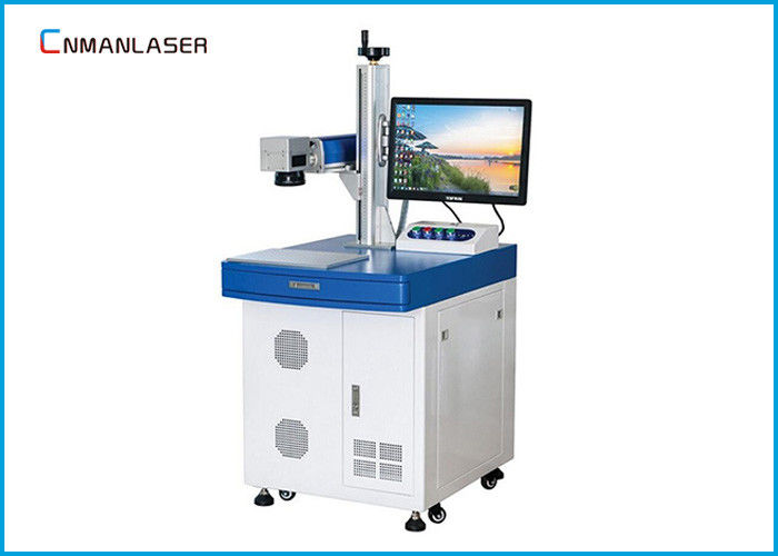 20w 550mm Lifting Height Metal Laser Marking Machine For Metal Instrument Hardware Tools