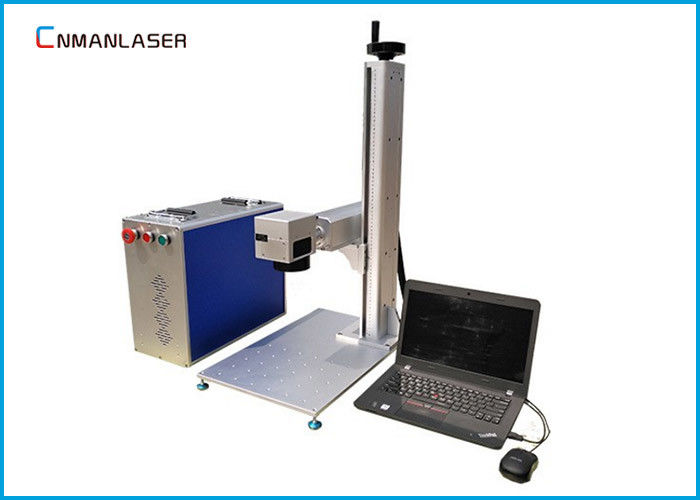 110*110mm 20w 1064nm Mini Fiber Marking Machine For Metal Circuit Boards Knives Tools