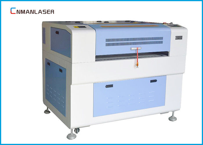 Adjustable Up - Down Table Honeycomb 9060 CO2 Laser Cutting Machine For Denim Jeans