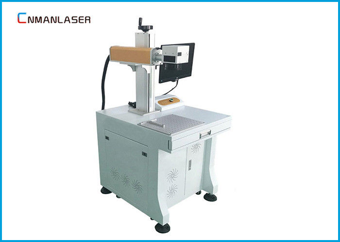 IPG Raycus Sources 30w Metal Copper Brass Fiber Laser Marking Machine Air Cooling