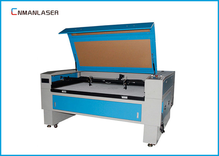 1300*900mm Blue And White Autofocus 100w Tube CO2 Laser Cutting Machine For Advertise