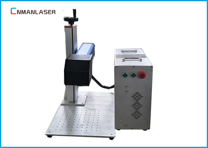 Color Lighting Hardware Fiber Laser Engraving Machine With Alloy Working Table