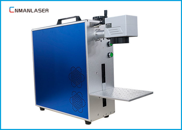 Electronic Elements Mini Fiber Laser Marking Machine With CE FDA Certification