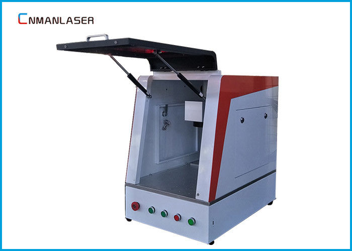 Red Light Position Optical Fiber Laser Marking Machine 30w For Phone Case Knife
