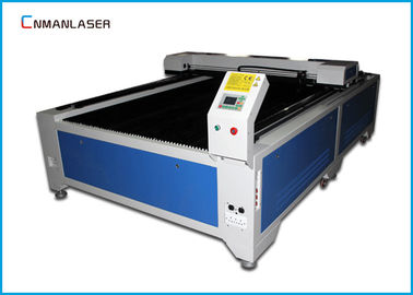 Cina Mesin Cnc Sheet Metal Aluminium 1325 Co2 Laser Cutter Dengan Water Chiller CW5200 pabrik