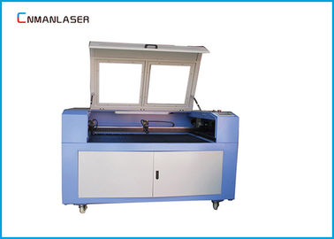 Cina 1610 Red Light Pointer 100w Laser Engraver Cutter Machine Untuk Garments Nameplates pabrik