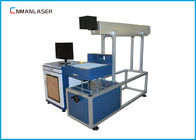Air Cooling Laser Tube CO2 Laser Marking Machine Untuk Nonmetals, 60w 80w 100w